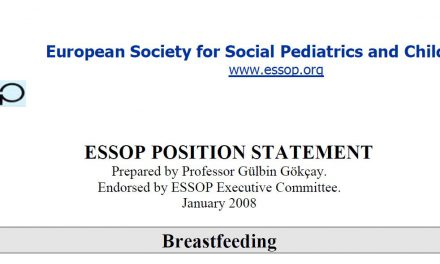 ESSOP position statement 2 – Breastfeeding