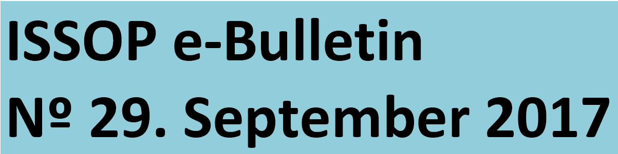 ISSOP 28th e-Bulletin is out !