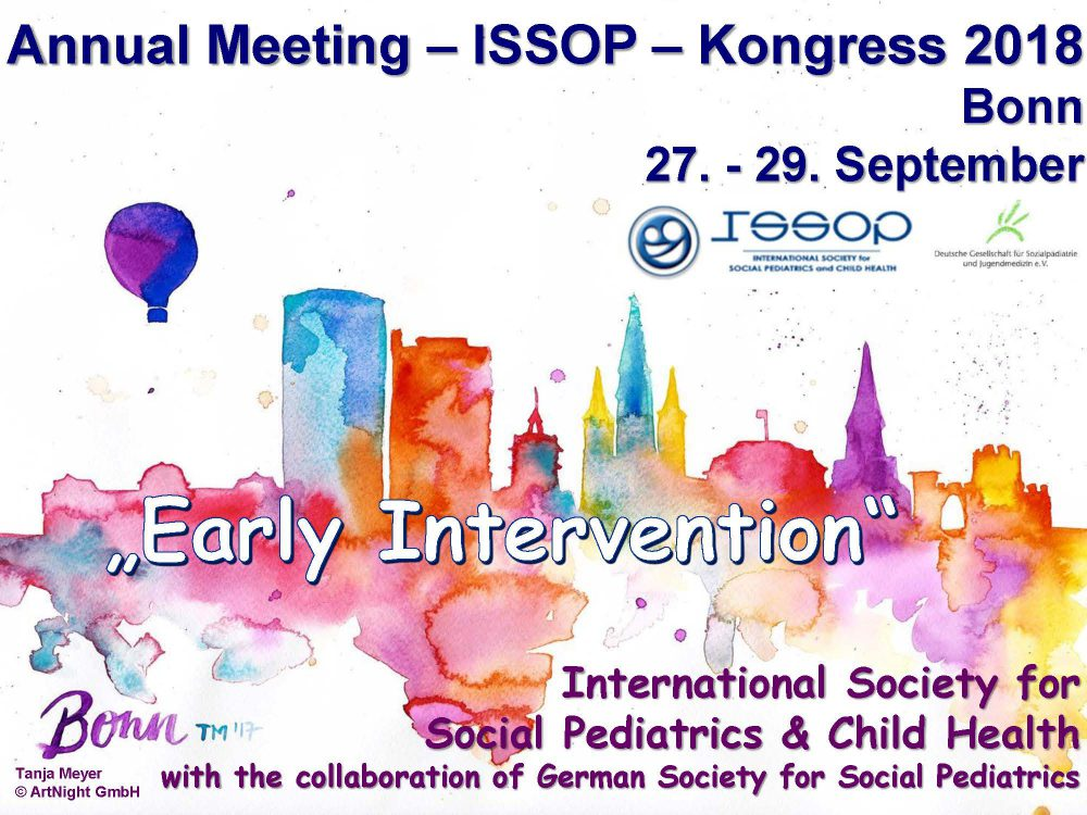 ISSOP 2018 – book the dates – 27-29th Sept, Bonn – Early intervention