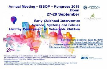 ISSOP 2018 – Update & New date for Abstract submission: Flyer with preliminary program – 27-29th Sept, Bonn