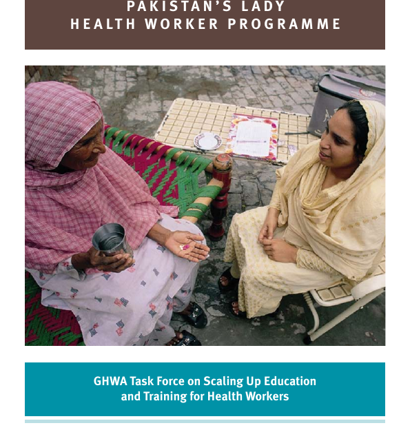 e-bulletin 36 – 7.4 Pakistan Lady Health Worker programme for responsive care-giving