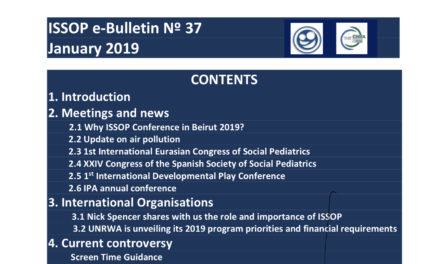 Latest ISSOP e-bulletin published