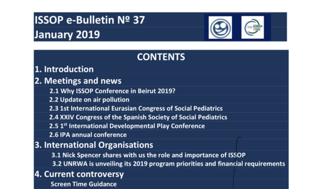 ISSOP e-bulletin 37