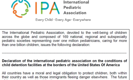 IPA Declaration on migrant children at US borders