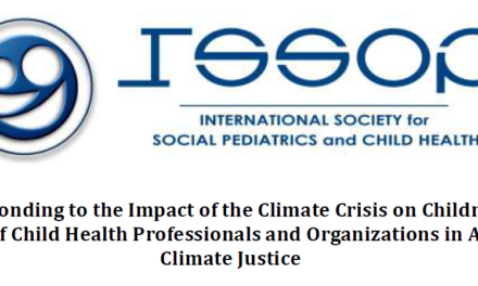 ISSOP Declaration: Responding to the impact of climate change on children