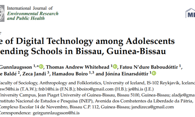 Use of Digital Technology among Adolescents Attending Schools in Bissau, Guinea-Bissau