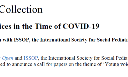 ISSOP BMJPO SPECIAL COLLECTION 'VOICES OF CHILDREN IN THE TIME OF COVID-19'