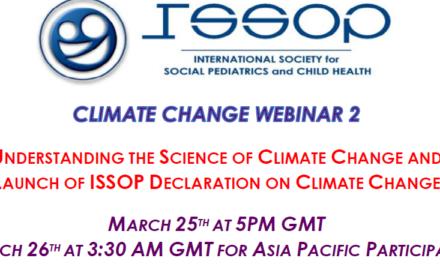 ISSOP CLIMATE CHANGE WEBINAR No.2 flyer