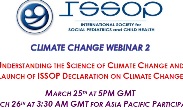 ISSOP CLIMATE CHANGE WEBINAR No.2 flyer