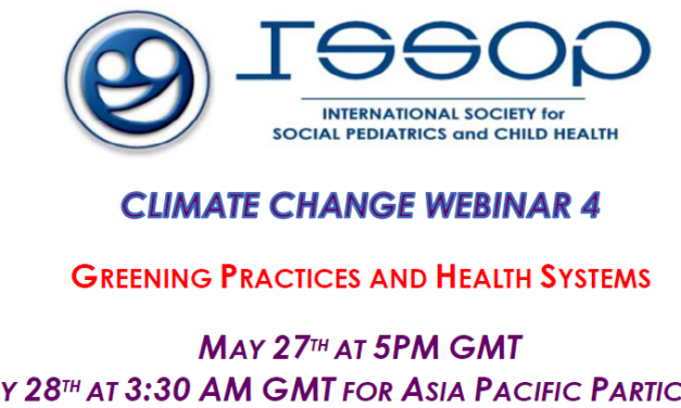 ISSOP CLIMATE CHANGE WEBINAR nO.4 FLYER