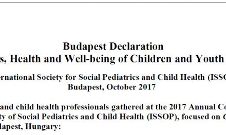 Endorsement of the Budapest Declaration On the Rights, Health and Well-being of Children and Youth on the Move – 30 organisations and 6 languages by mid-november 2018