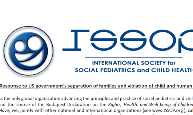 ISSOP Response to US government's separation of families and violation of child and human rights