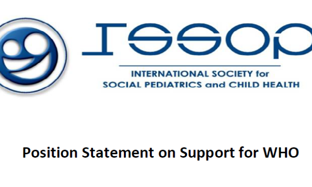 ISSOP statement on support for who