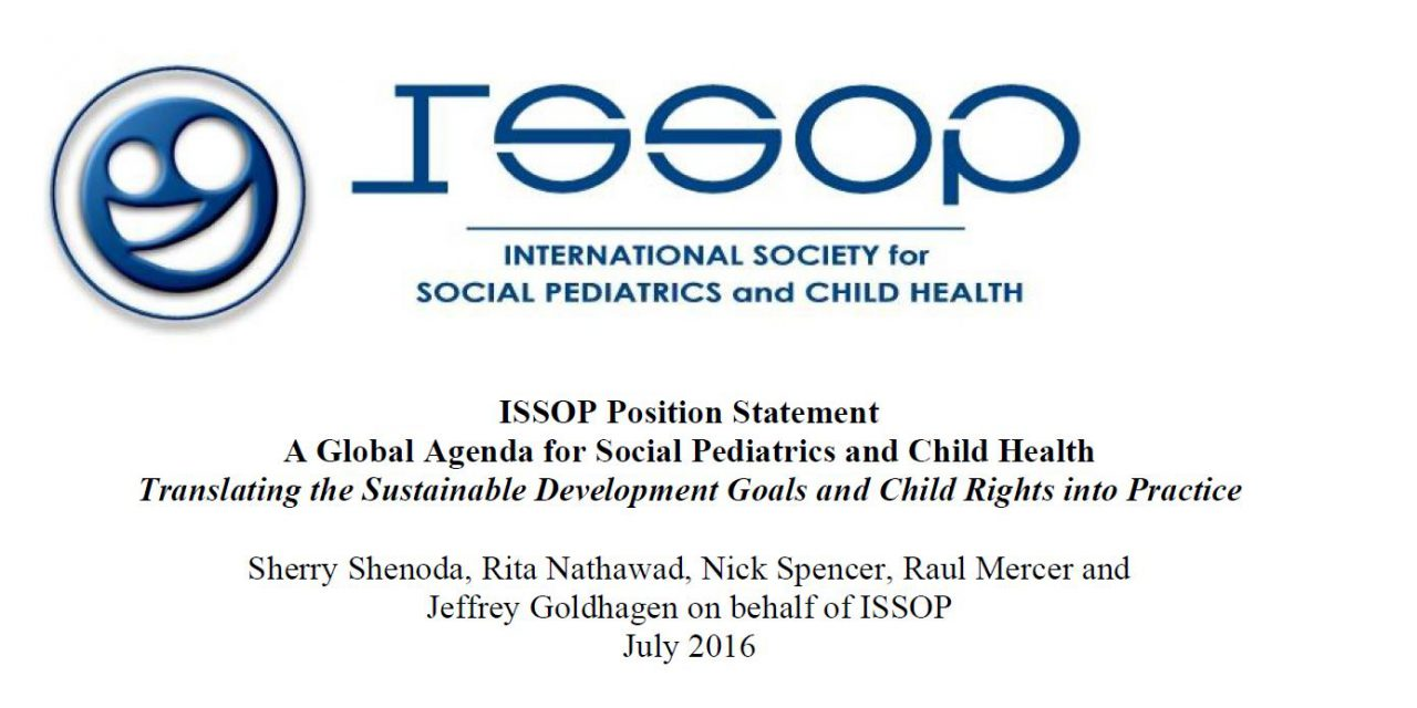 issop position statement 7 – SDGS ChildRights